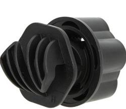Кручений ізолятор для круглих прутків