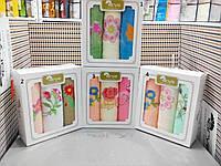 Махровые кухонные полотенца Arya  в красивой подарочной коробке.