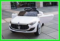 Детский электромобиль Maserati 8821 с пультом дистанционного управления Кожаное сиденье