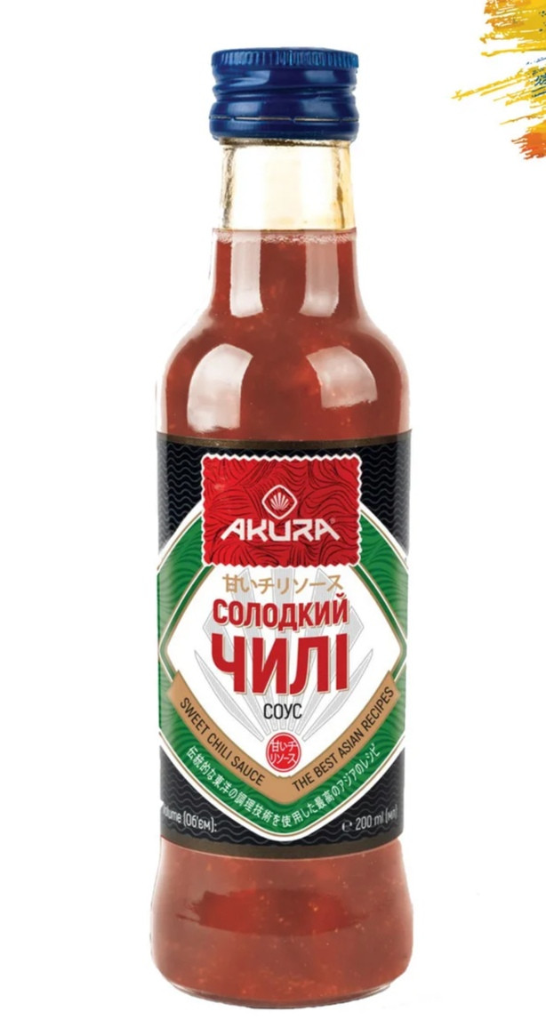 "Соус ""Сладкий чили"" 200 мл. ТМ ""AKURA"""
