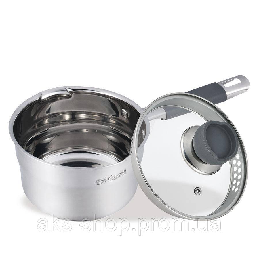 Ковш Maestro MR-3507-16S объем 1,5  л  диаметр 16 см
