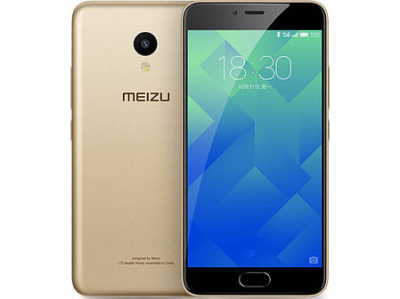 Смартфон Meizu M5 2/16Gb Gold Stock A-, фото 2