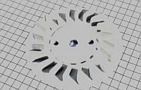 Крыльчатка магнето на двигатель 2Т - цепной вариатор