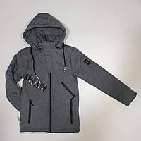 Подростковая куртка на мальчика весна-осень 111 (36-44) оптом