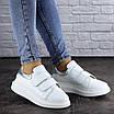 Кроссовки женские кожаные белые Beast 2106 (36 размер), фото 5