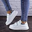 Кроссовки женские кожаные белые Beast 2106 (36 размер), фото 7