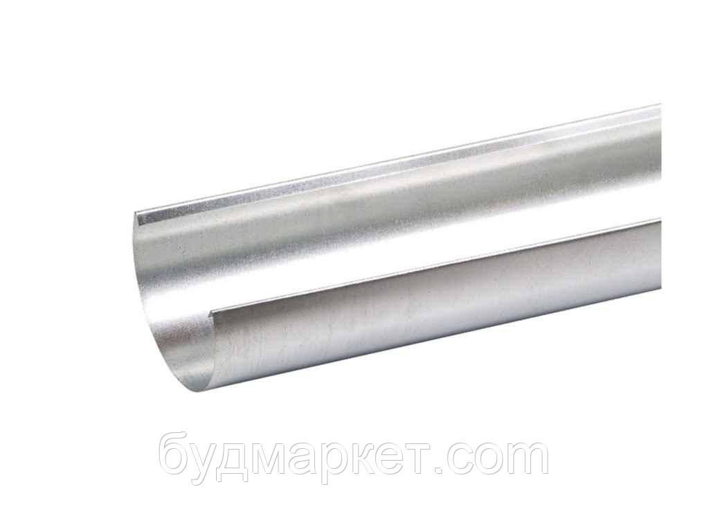 Желоб водосточный оцинкованный D100 L 2м