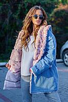 Куртка джинсовая на меху, фото 1