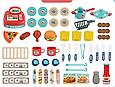 Игровой набор Кухня Кафе На Колесах 008-958 Фастфуд, фото 3