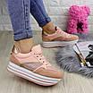 Женские пудровые кроссовки Alice 1077 (38 размер), фото 5