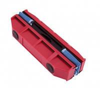 Щетка магнитная для мытья стекол с двух сторон Glider Красная, фото 1