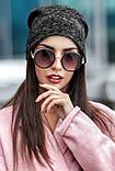 """Стильная шапка женская """"Ангора"""" двойная (12 цветов, р.UNI), фото 6"""