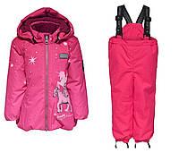 Зимний мембранный комбинезонLEGOWear(Дания) для девочки 98, 104 см раздельный розовый