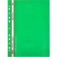 Скоросшиватель с перфорацией А4 «C» Зеленый