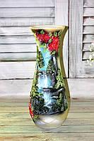 Напольная ваза Цветной водопад h 63 см