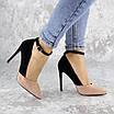 Туфли женские на каблуке розовые Beth 2186 (36 размер), фото 2