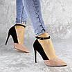Туфли женские на каблуке розовые Beth 2186 (36 размер), фото 3
