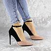 Туфли женские на каблуке розовые Beth 2186 (36 размер), фото 5