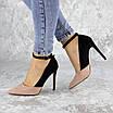 Туфли женские на каблуке розовые Beth 2186 (36 размер), фото 6