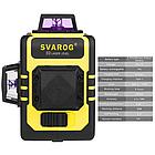 Лазерный уровень Svarog 3D с зелёными лучами, фото 4