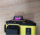 Лазерный уровень Svarog 3D с зелёными лучами, фото 5