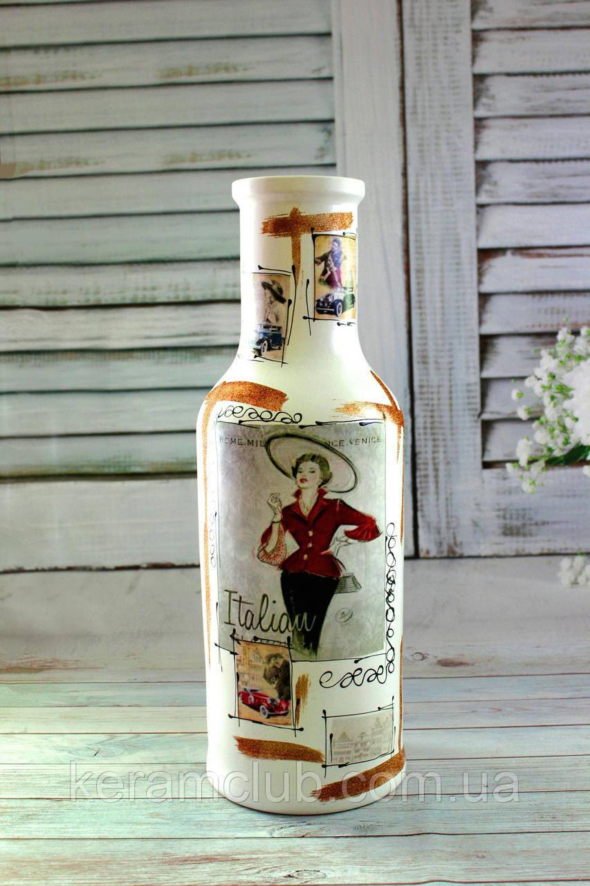 Напольная ваза Сеньорита h 67 см