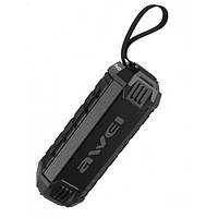 Колонка портативная Awei Y280с ремнем FM USB