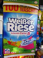 Стиральный порошок Weiber Riese Intensiv Color 5, 100 стирок (5,5 кг)