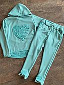 Трикотажный костюм-двойка для девочек,  128-164 рр.Артикул: AS4629