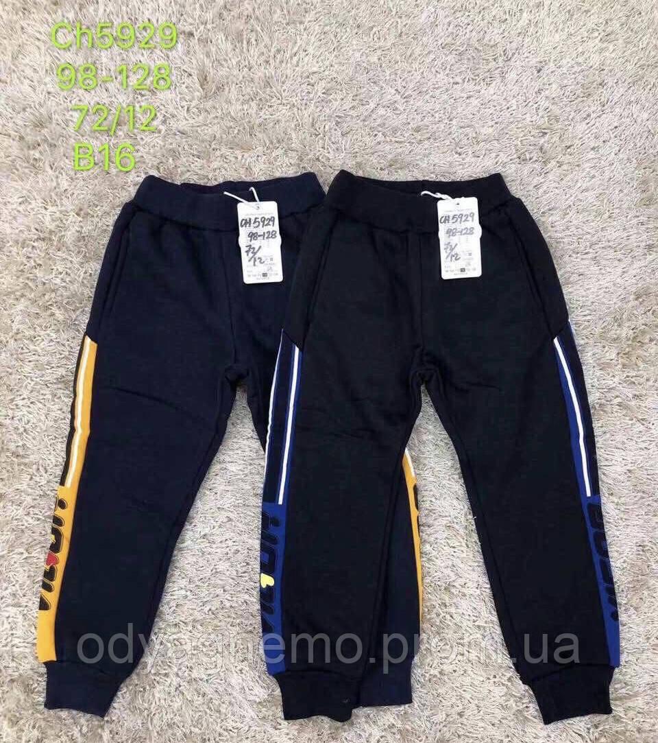 Утеплені спортивні штани для хлопчиків S&D оптом, 98-128 рр. Артикул: CH5929