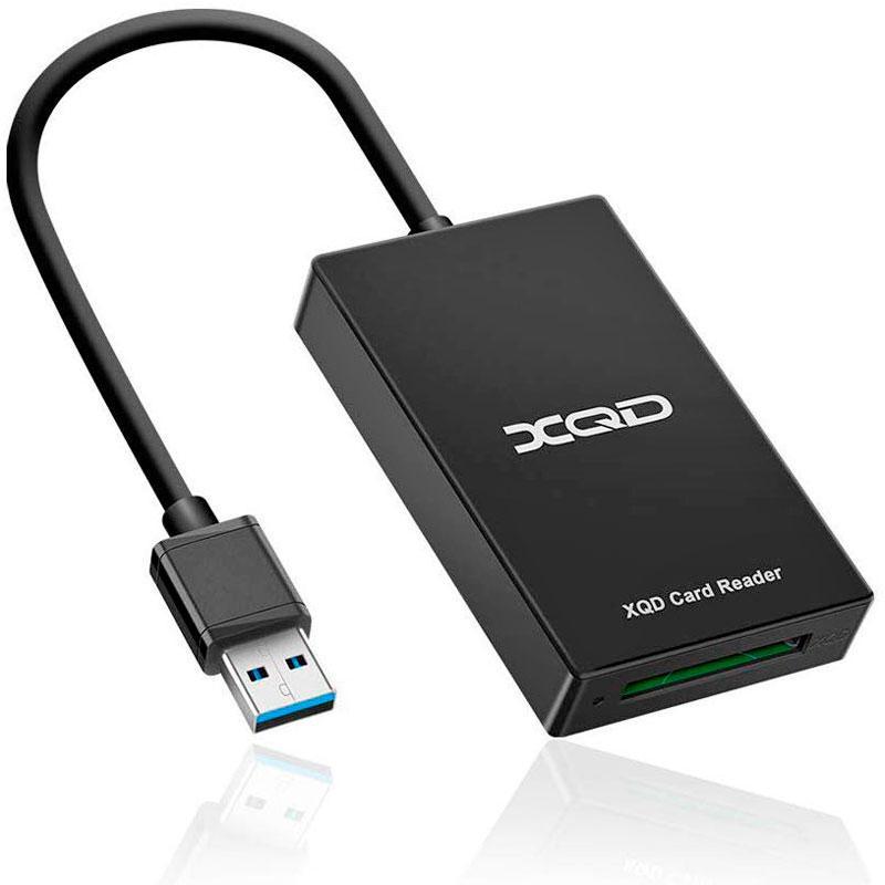 XQD картрідер – перехідник для карт пам'яті фото-відео камер