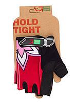 Перчатки Green Cycle NC-2334-2014 MTB Feminine без пальцев L розовые