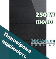ALM-250 MONO BLACK 250 Вт солнечные панели (фотомодули, батареи) монокристал
