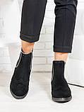 Женские Ботинки Челси бусы замша 6702-28, фото 2