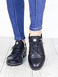 Туфли черные кожаные 7145-28, фото 2