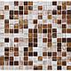 Листовая панель ПВХ на стену Регул, Мозаика (Коричневый Микс), фото 5