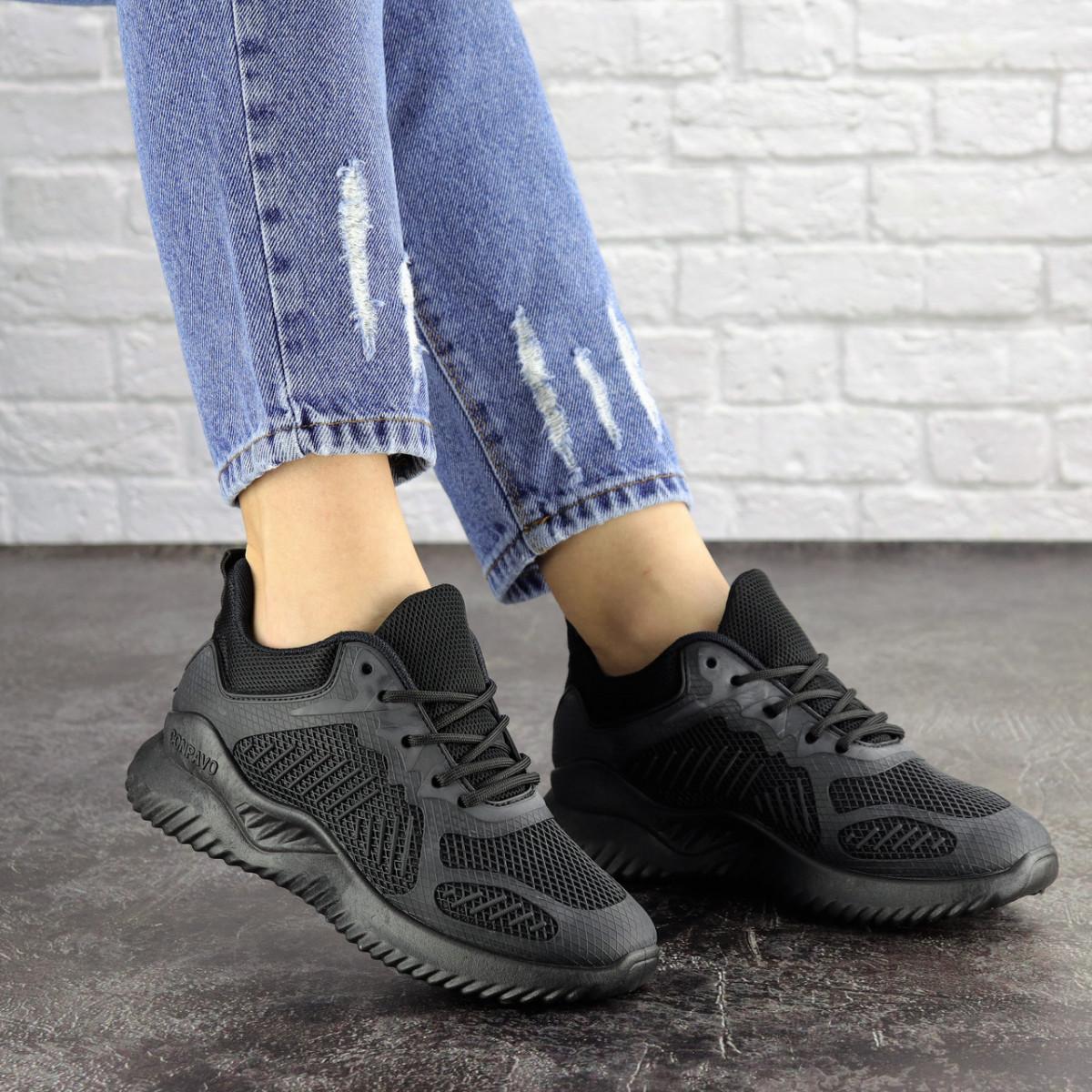 Женские черные кроссовки Coaco 1661 (39 размер)