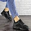 Женские черные кроссовки Coaco 1661 (39 размер), фото 4