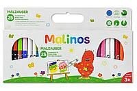 Волшебные фломастеры меняющие цвет MALINOS Malzauber 25 (12+9+4) шт