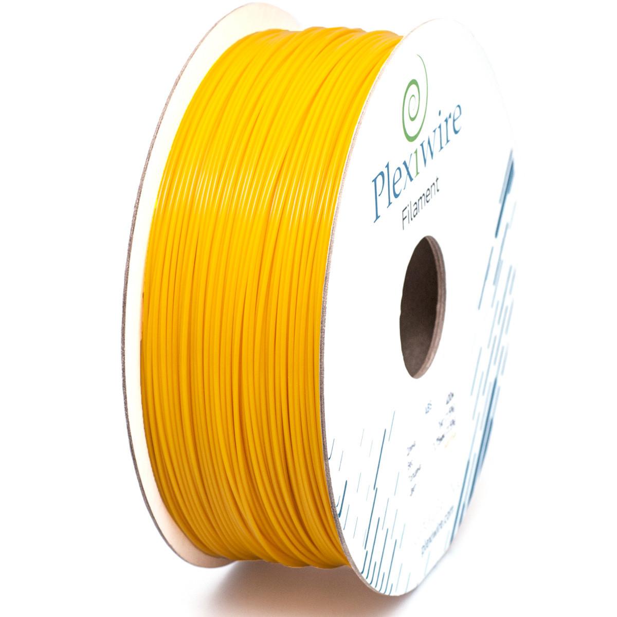 ABS пластик для 3D принтера 1,75мм (300м /0,75кг) желтый