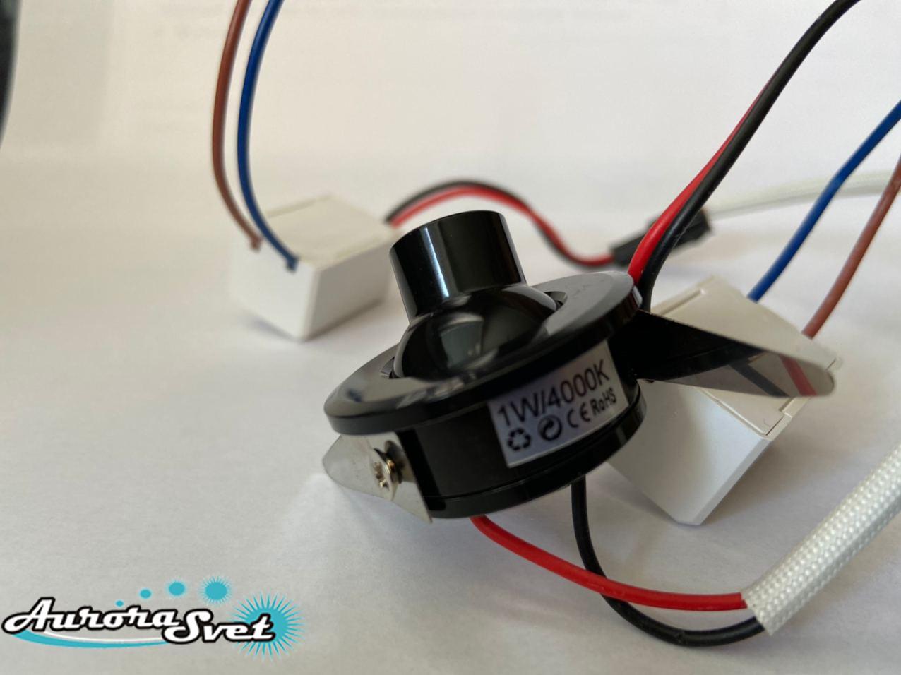 Ювелірний світильник врізний для освітлення вітрин ювелірних. LED освітлення. Світлодіодне освітлення.
