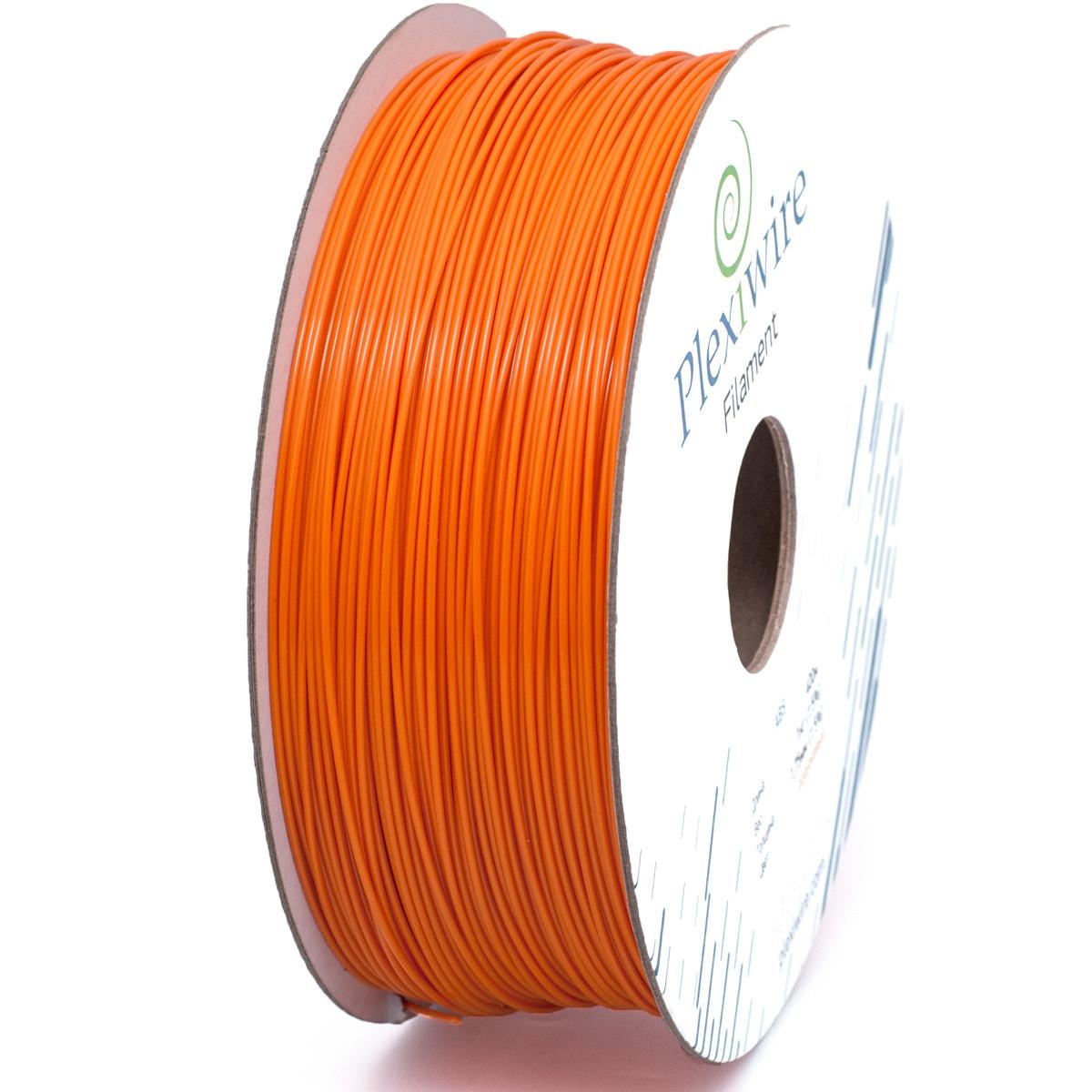 ABS пластик для 3D принтера 1,75мм (400м /1кг) оранжевый