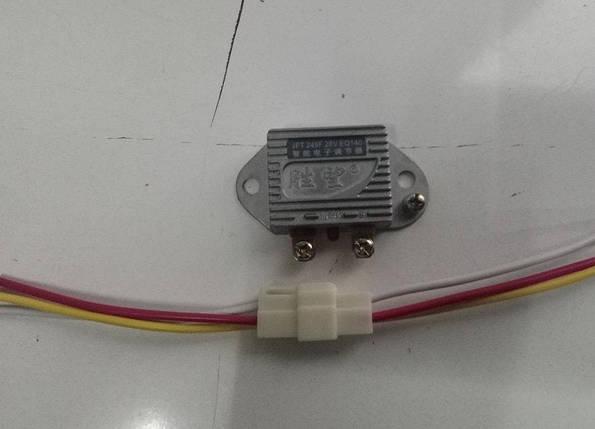 Реле зарядки JFT249F-28V EQ140 Foton, Jac, Faw, ФАВ регулятор напряжения, фото 2