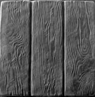 """Форма  из АБС пластика для изготовления плитки """"Дощечки """"  Размеры : 46х46"""