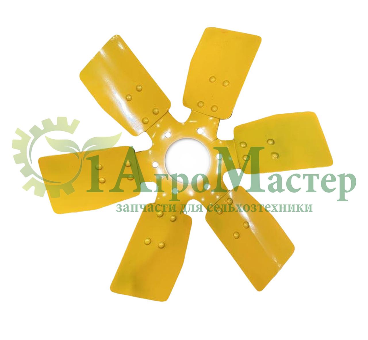 Вентилятор МТЗ, Д-245 245-1308040-А 6 лопастей металлический