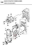 Шкив привода ремня ГРМ MATIZ II // AVEO 1,2 SOHC/ Шкив зубчатого ремня (94580137, GM - Южная Корея)