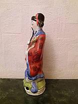 Бог карьеры Лу-син, фарфор Китай 1950-е годы, фото 3