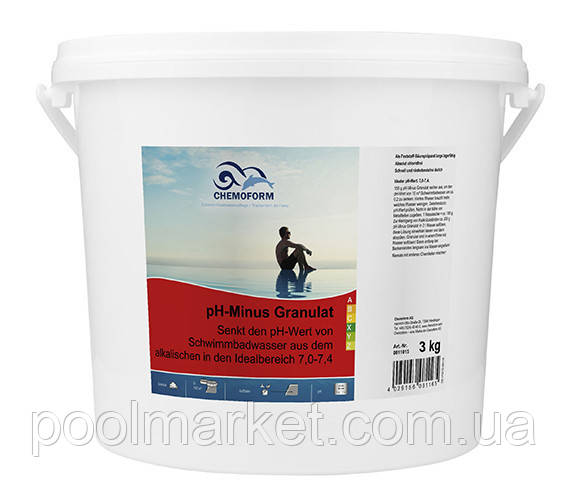 PH—Regulator Minus (гранулят) 3 кг
