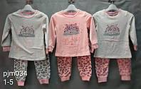Пижама для девочек, Setty Koop, 1,2,3,4,5 лет,  № PJM034