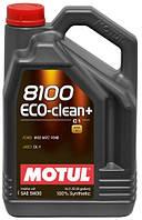 Моторное масло Motul 8100 ECO-CLEAN+ SAE 5W30, 5L